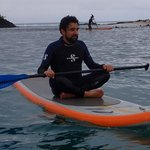 Galapagos Stand Up Paddle Yoga