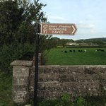 Signpost to Dunmore Caves
