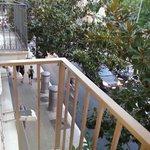 From the balcony towards La Pedrera