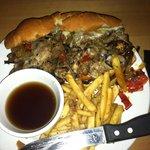 """""""D"""" Town Cheesesteak Sandwich"""