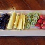 Always fresh fruit!