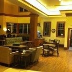 nice reception area