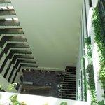corridors overlooking reception