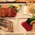 Dinner box - tonkatsu