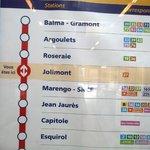 plan de metro ligne A