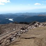 One of several views coming back down from Pike's Peak.