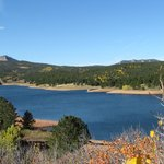 Lake just below Pike's Peak. Great photo op spot!