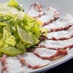 Salada de Carpaccio de Polvo