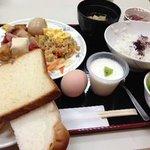 朝食は本当に美味しかったです。