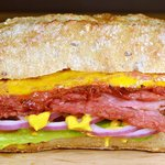 Montreal Smoked Meat w/Cheddar