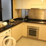 Kitchenette with washer/dryer