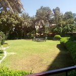Lovely gardens, seconds from the lobby