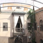 Chanelier in middle of Riad