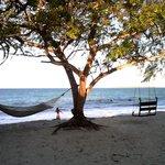 Amaca sulla spiaggia