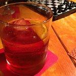 Late night drinks negroni