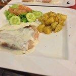 Escalope gorgonzola
