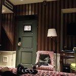 Door from bed