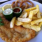 The juicy Fish & Chips!