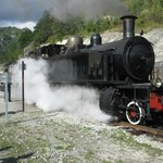 Annot , steam train