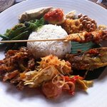 the lovely nasi campur