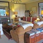 The beautiful lounge area