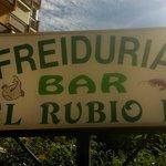 Bar El Rubio II - signage