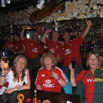 LIONS/SPRINGBOK SUPPORTERS