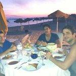 dinner sur la plage