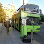 Program Centrum Tours Bus (デアーク・フェレンツ広場前の発着場所です)