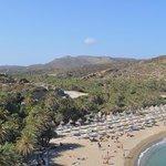 la plage et la palmeraie de Vaï