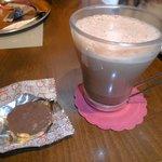 Chocolate quente no Agrea
