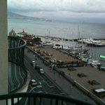 La Bersagliera from balcony at Vesuvio