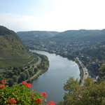 View up the Mosel from the Castle