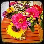 My Bday Flowers
