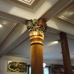 レストランの柱