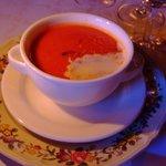 トマトクリームスープ
