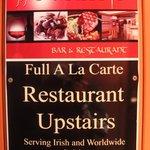 Restaurant/Pub sign
