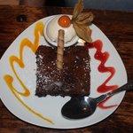 The decadent dessert