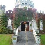 Castle reception entrance