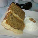 Coffee and walnut cake - my favourite