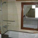 cloison salle de bain/ chambre