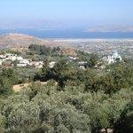 Uitzicht over het eiland Kos