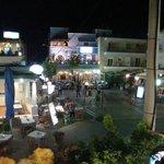 Foto van een pleintje in Kos stad