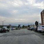 Parkplatz hinter dem Ramada