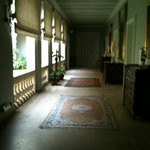 Hallway overlooking Solarium