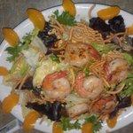 My shrimp salad...yum!!!