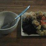 Suppe & salat, - lidt lidt, hvis man skal være helt mæt