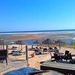 traumhafte Beach-Bar und Strand