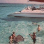 swimming with the stingrays at stingray city **MUST DO***