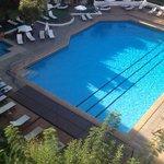 main pool at Lindos Mare